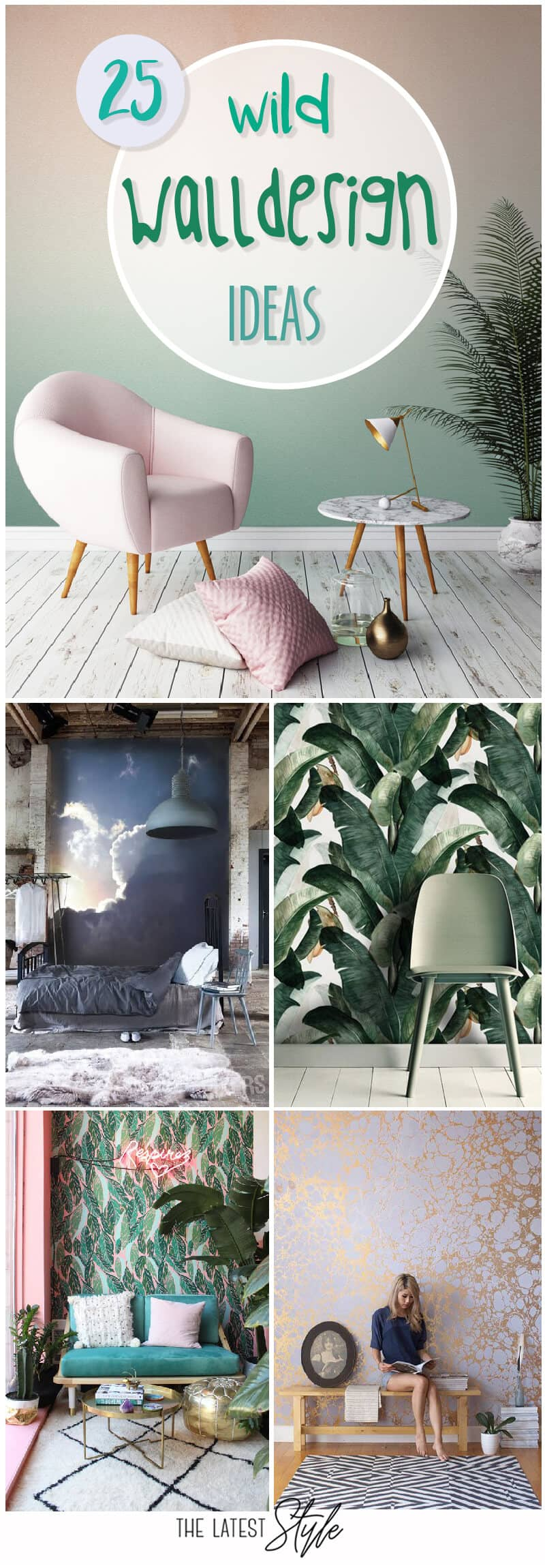 25 Wild Wall Design Ideas To Up Your Interior Design Game