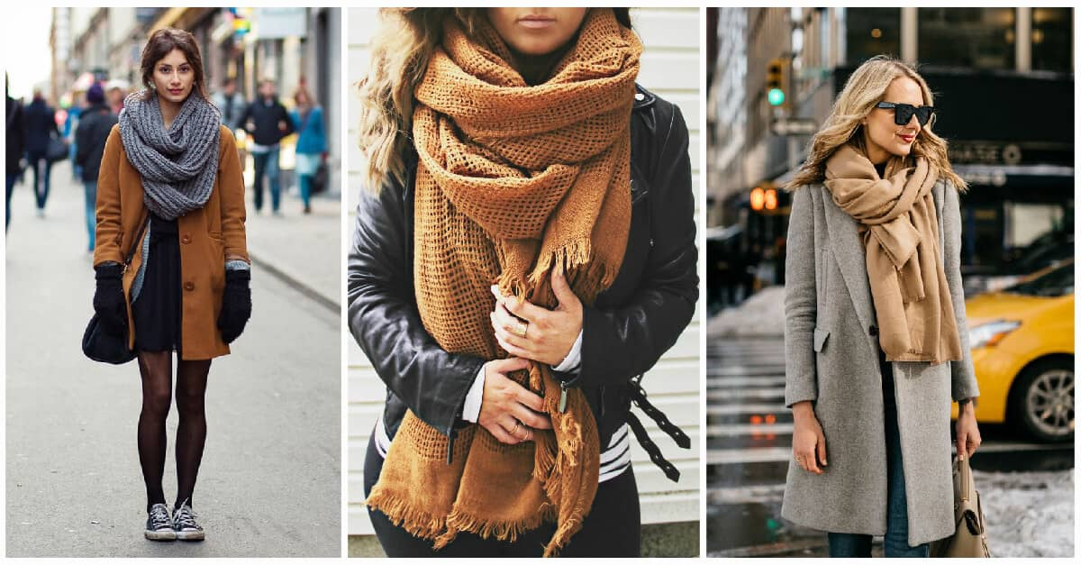 27 Times When Winter Outfits With Scarf Don T Look Basic