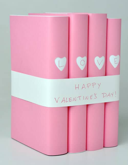 Decorative Valentine's Books for the Festive Bookworm