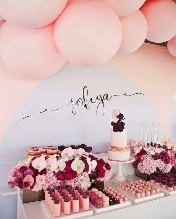 The Perfect Pink Engagement Party