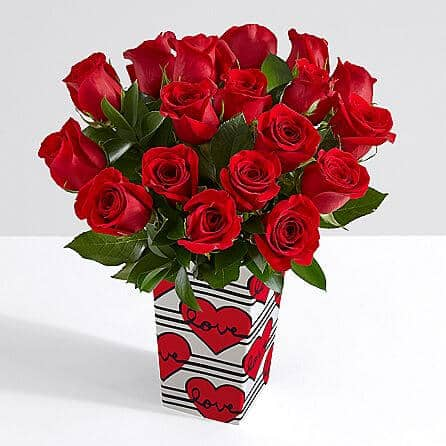 The Classic Red Rose Bouquet