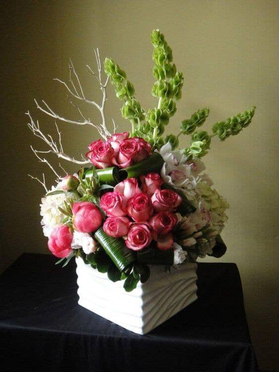 Rose Bundles with a Forest Flair
