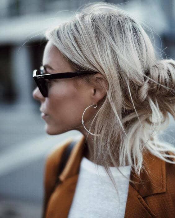 Business Casual Half-Down Hair