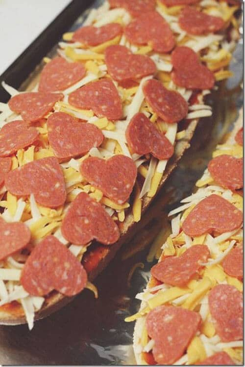 Hearty Pepperoni to Spice Up Valentine's day dinner