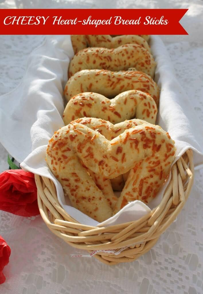 Add Heart-shaped Breadsticks to the Table