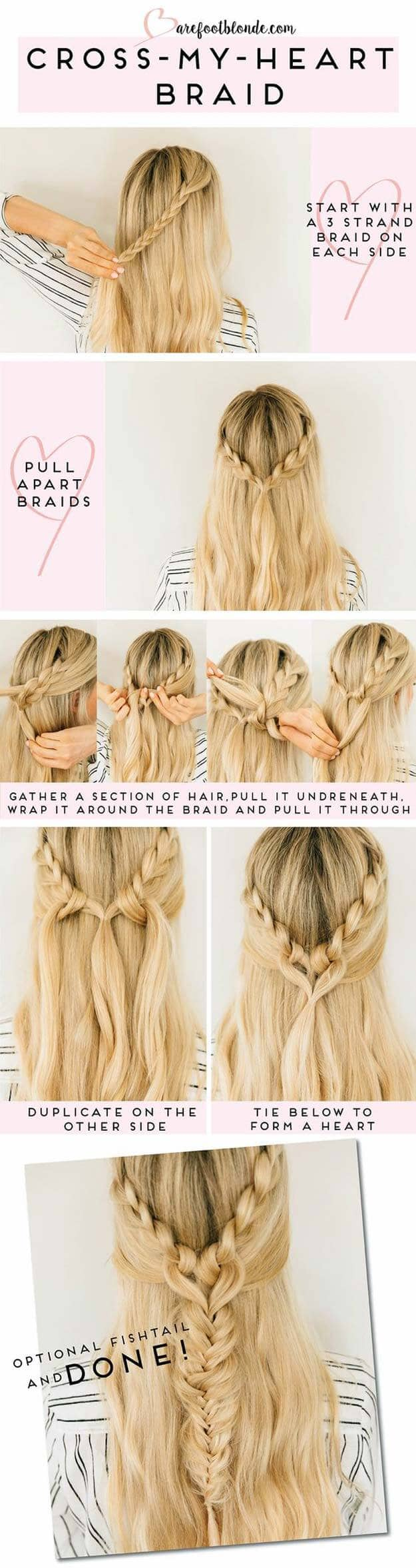 Criss Cross-My-Heart Braid