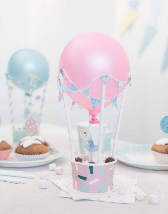 Hot Air Balloon Treat Cups