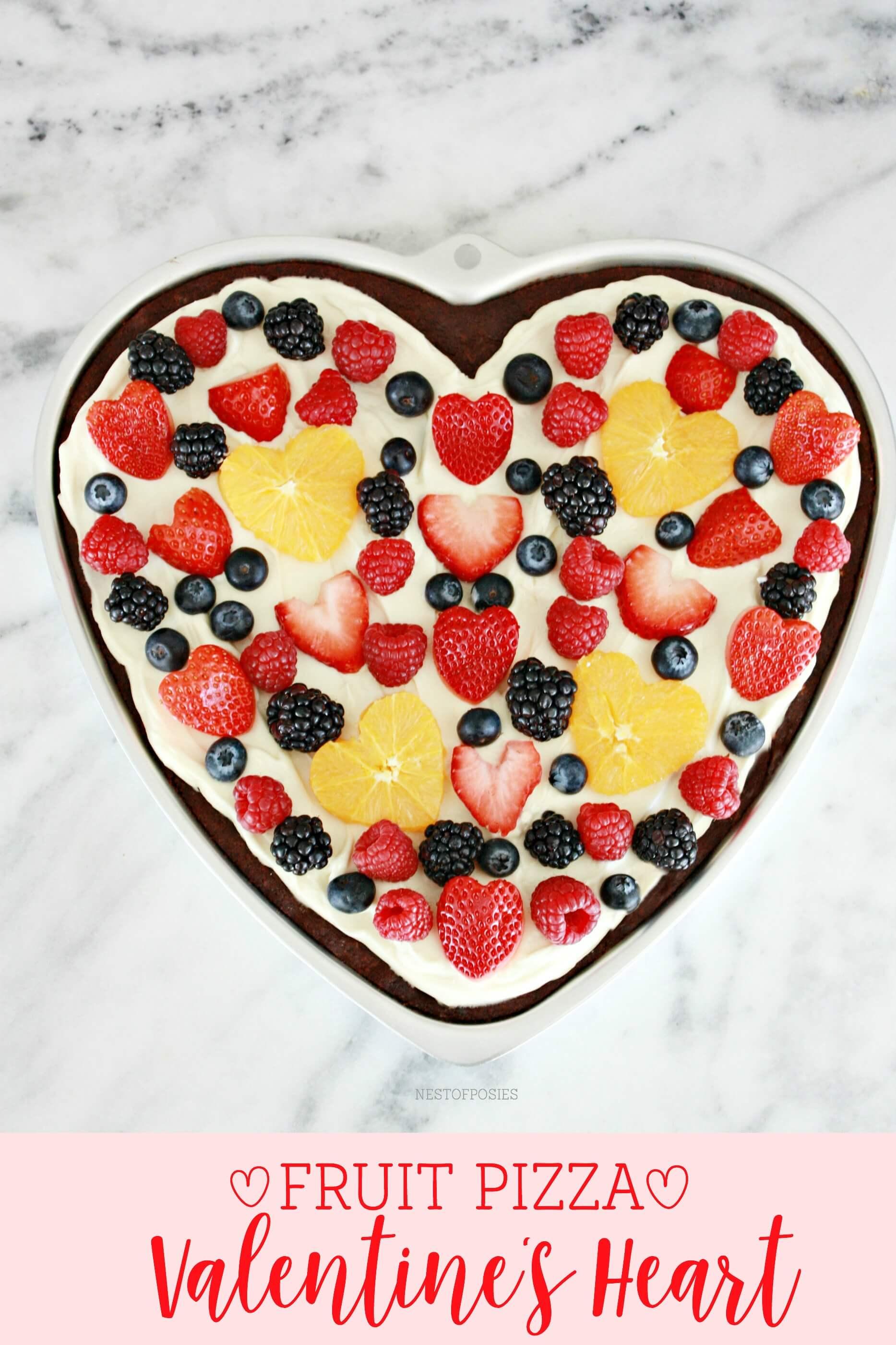 A Fresh Fruit Tart for their Heart