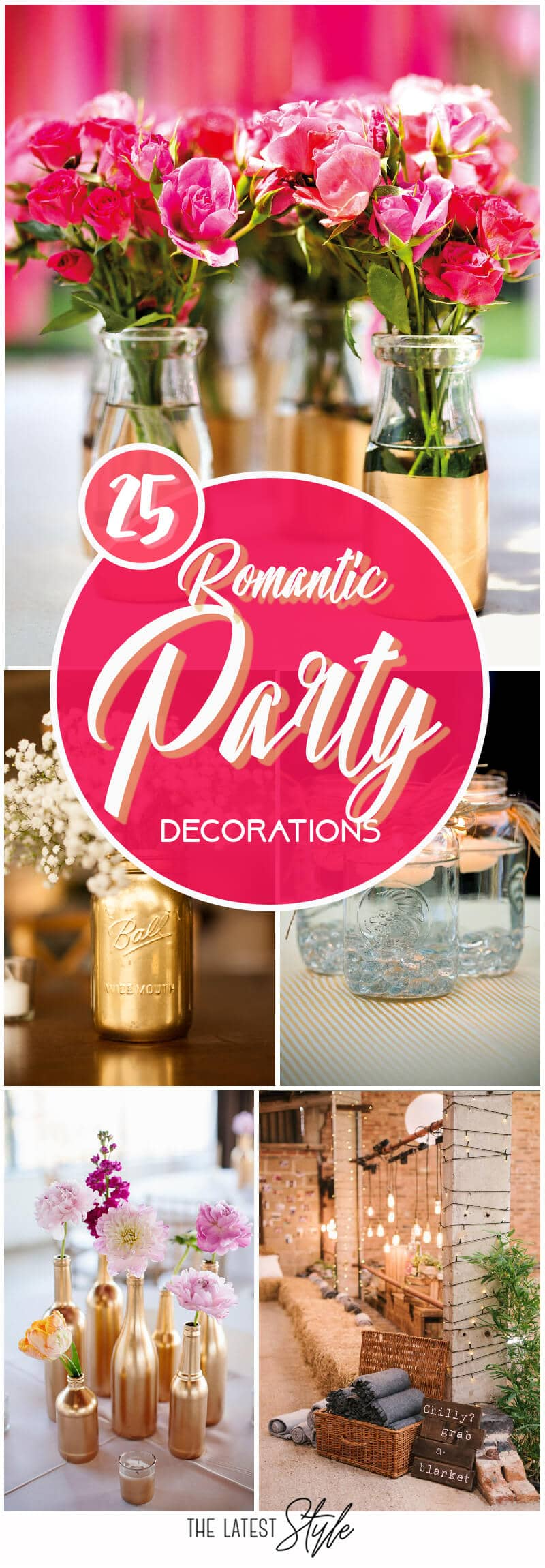 25 Really Romantic Party Decoration Ideas to Set the Mood