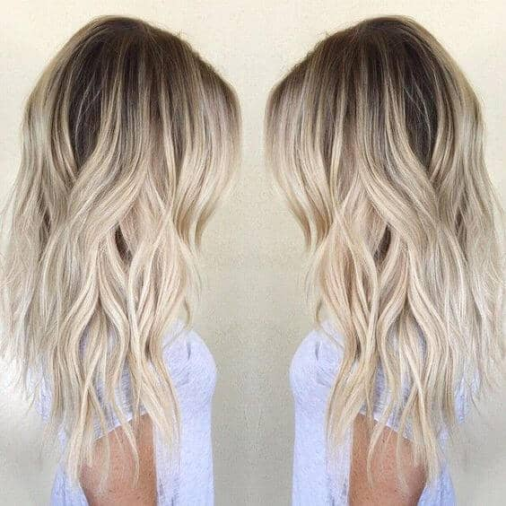 Easy and Flirty Blonde Balayage Hairstyle