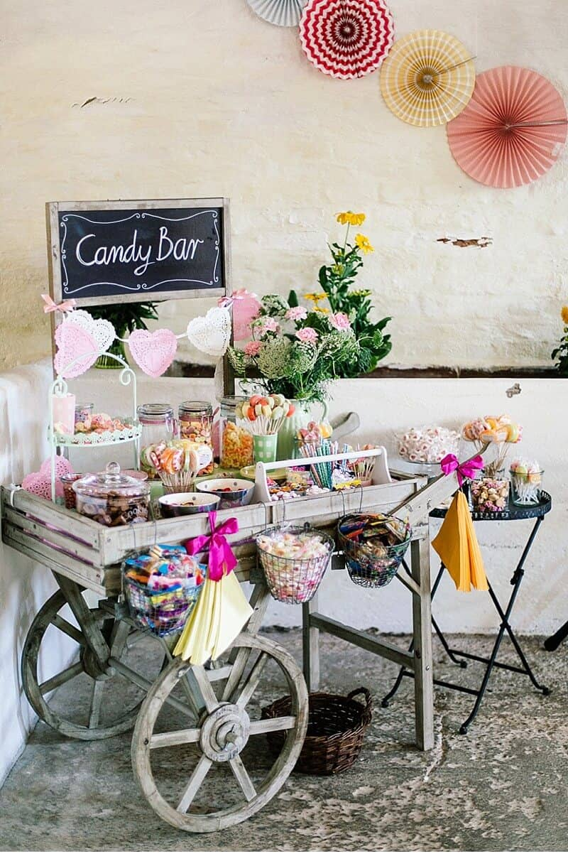 Sweet Candy Bar Setup