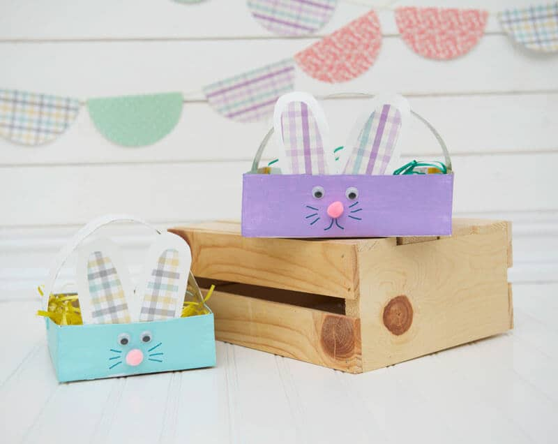 Bunny Boxes with Ears and Eyes