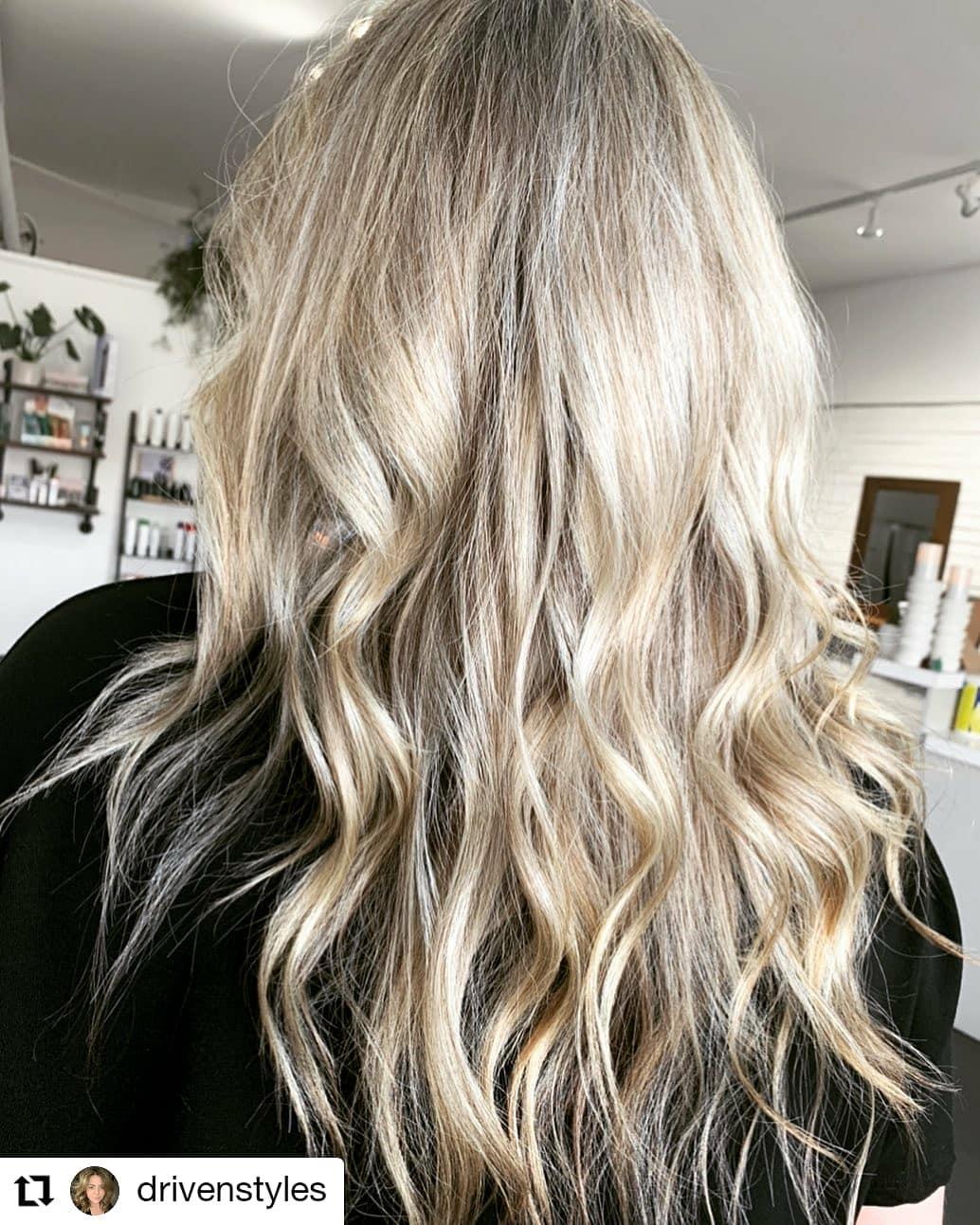 Ash Grey-Golden Fuller Crown Hairstyle