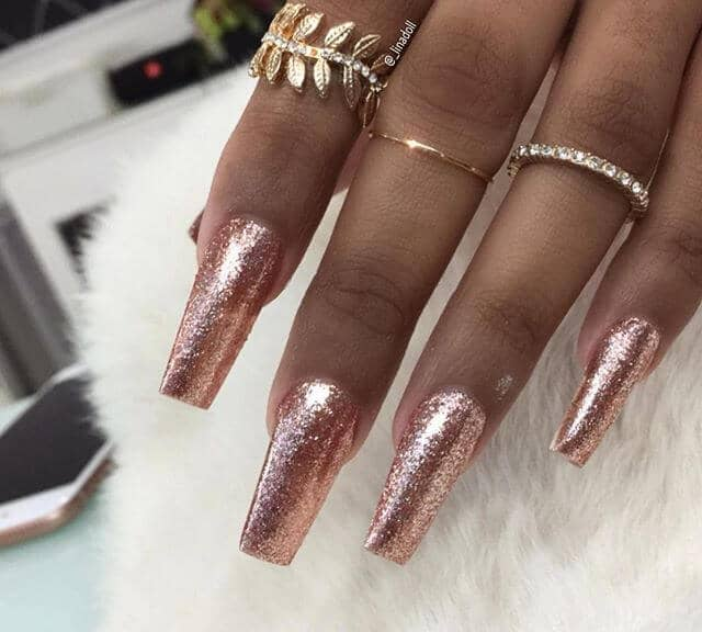 Rose Gold Tips Fit for a Queen
