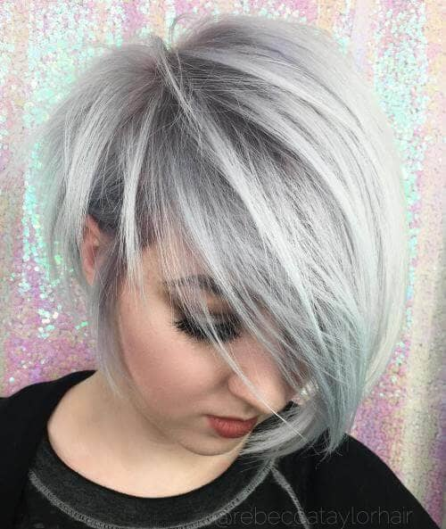 The Tapered Pixie Haircut with Bangs