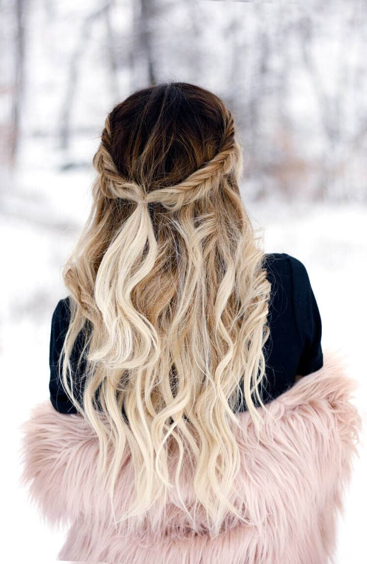 Ombre Balayge Beautiful Princess Locks
