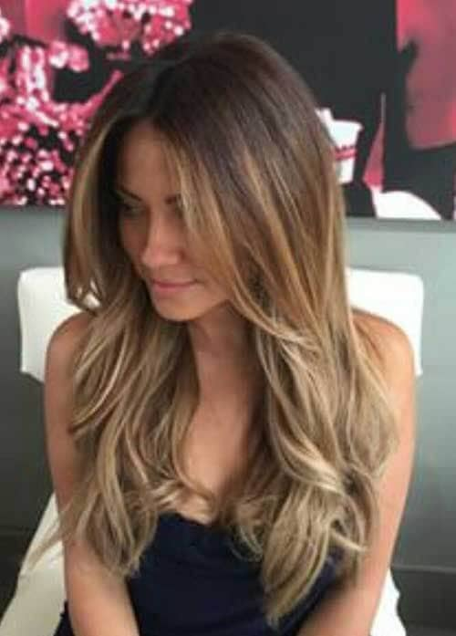 Boho Chic Layered Ombre Waves
