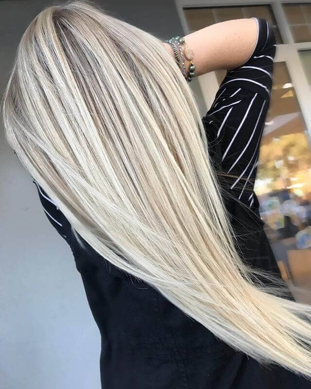 Dimensional Platinum with Lowlight and Highlights