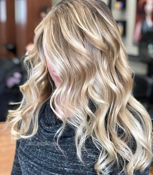 Full Spectrum Blonde Hair