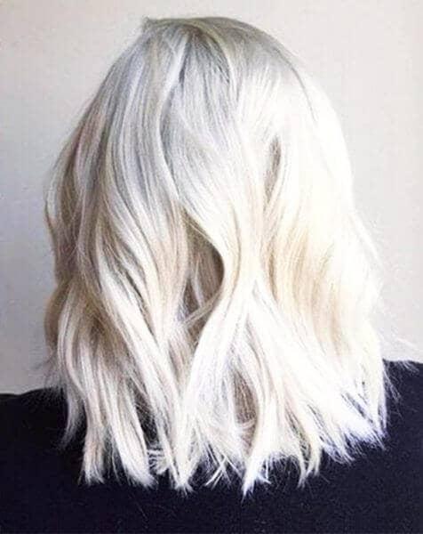 Bright and Unique White Blonde