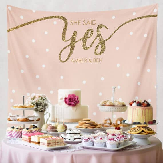 The Ultimate Dessert Table and Backdrop