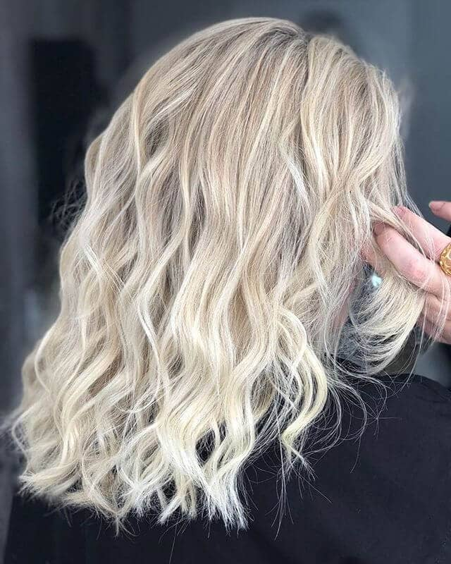 Cute Waves with Dimensional Platinum