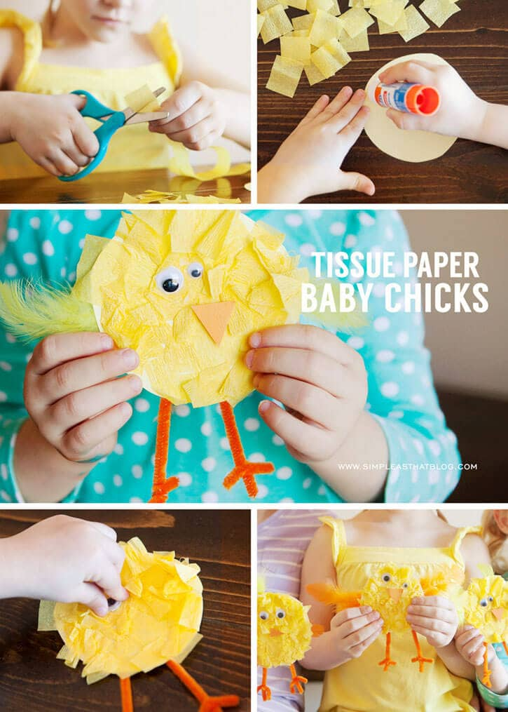 Baby Chick DIY Crafts for Kids