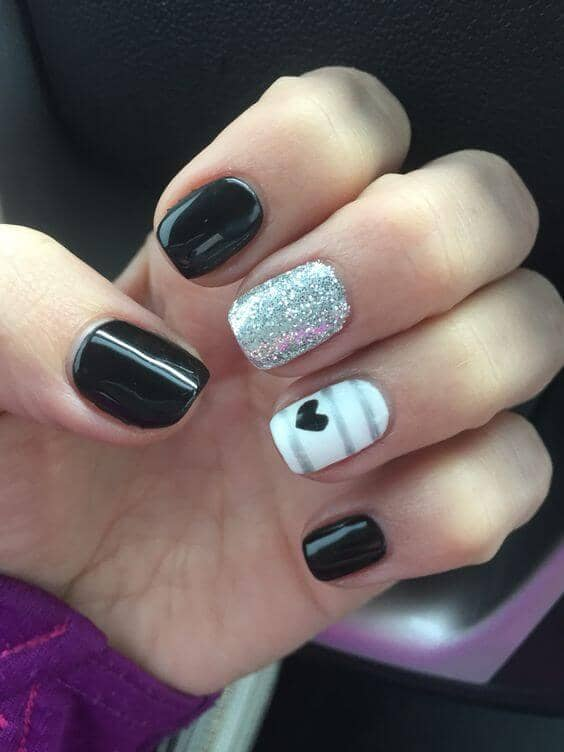 Edgy Punk Rock Fashion Nails