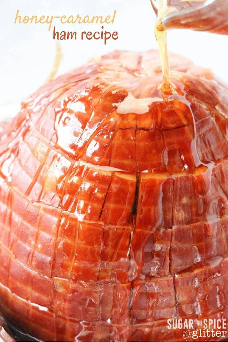 Glaze Your Own Ham with Honey and Caramel