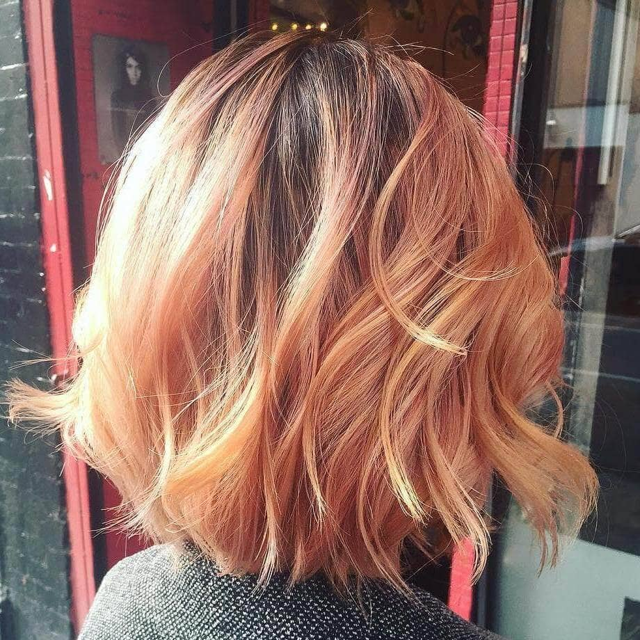 Stunning Multi-Hued Strawberry Blonde