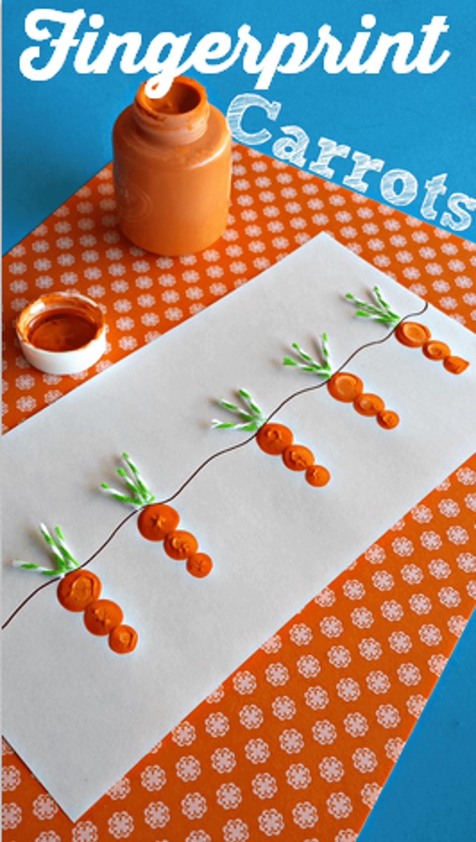 DIY Crafts for Kids with Fingerprints