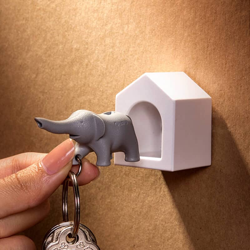 Qualy Design Studio Elephant Wall Key Holder