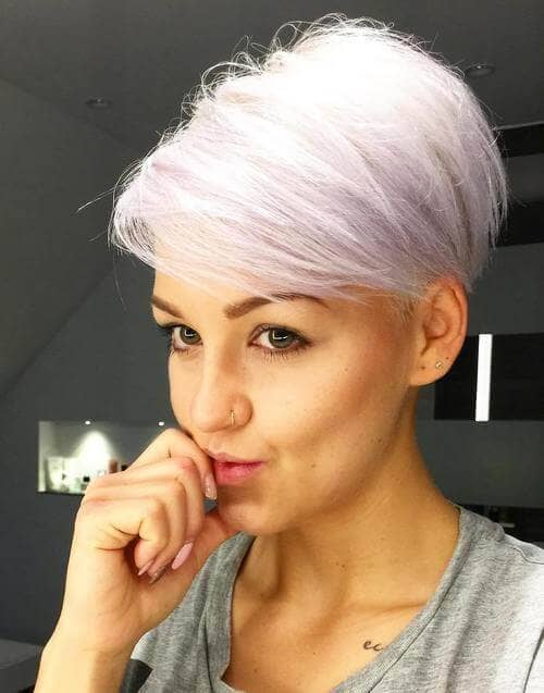 The Modern Pixie with Longer Bangs