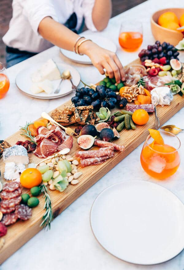 A Divine Smorgasbord for Intimate Gatherings