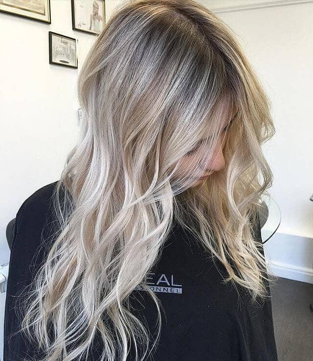Subtle Ombre with Dark Ash Blonde
