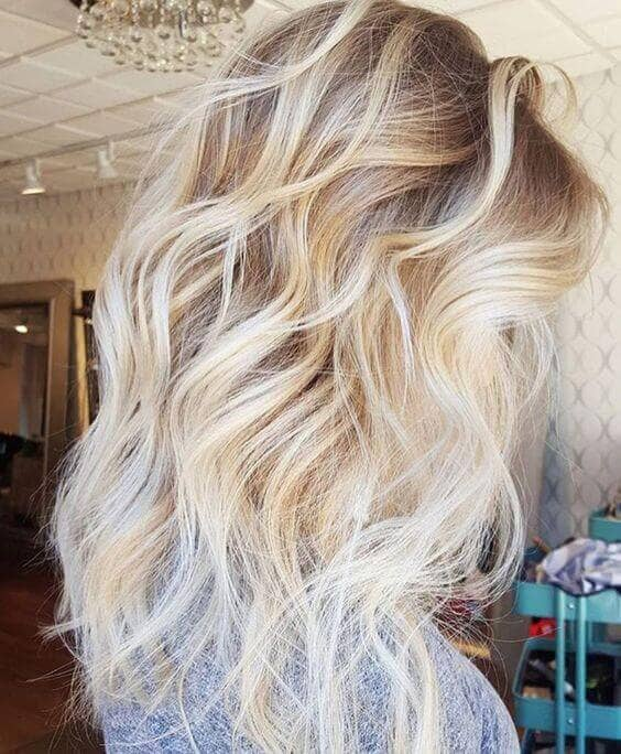 Ultra-Textured Summer Blonde Hair