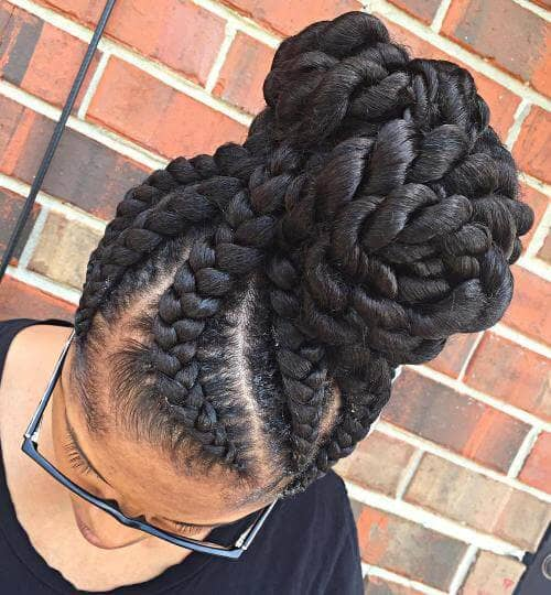 An Intricately Casual Braided Updo