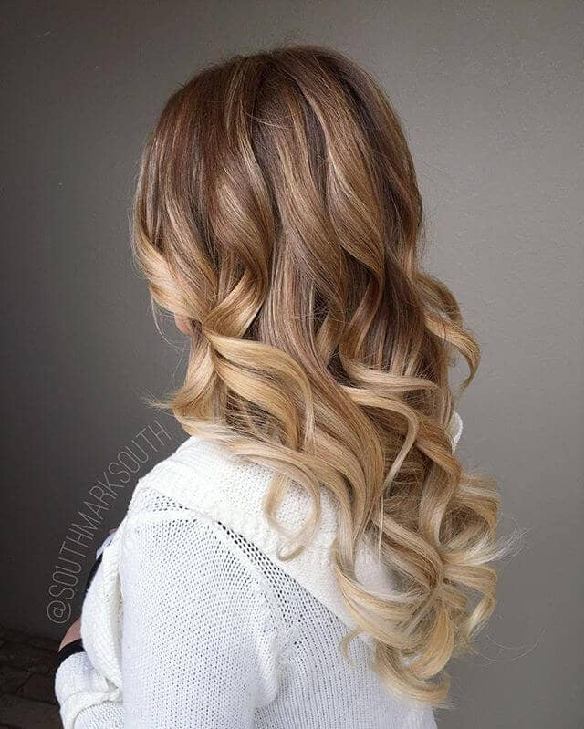 Easy, Creamy Caramel Hairstyle