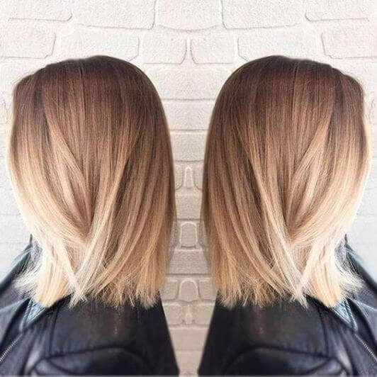 Smooth as Silk Balayage Style Highlights