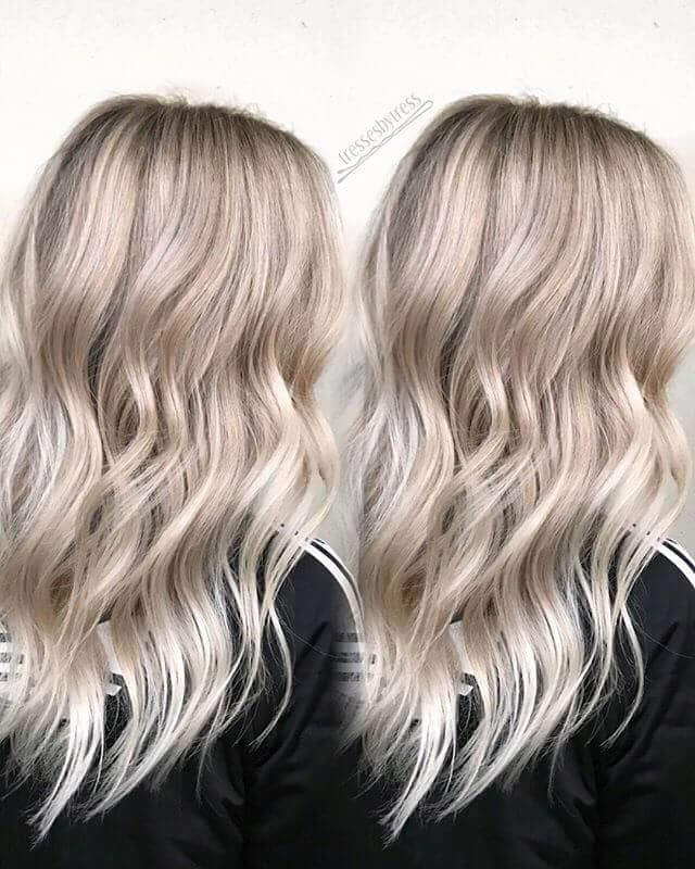 Rosy Blonde and Beach Waves