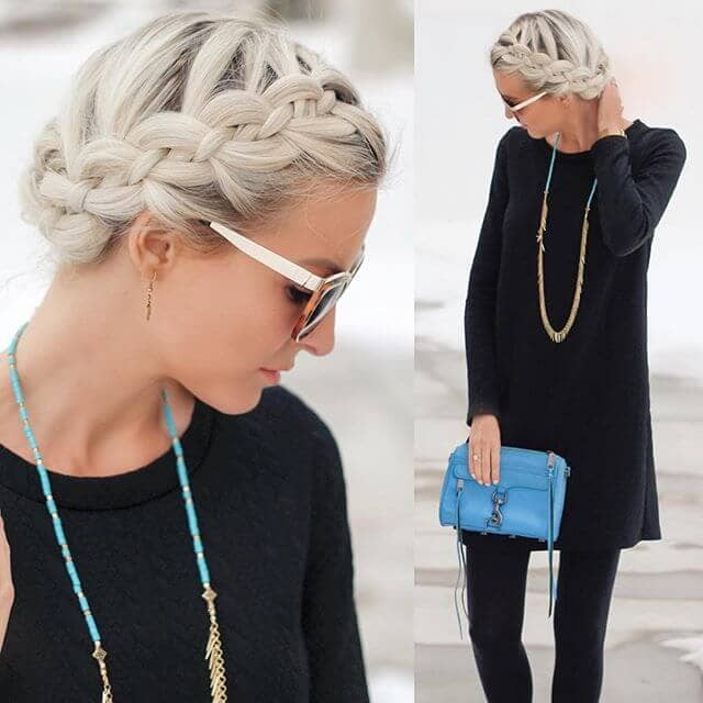 Cute Hairstyle for Casual or Formal