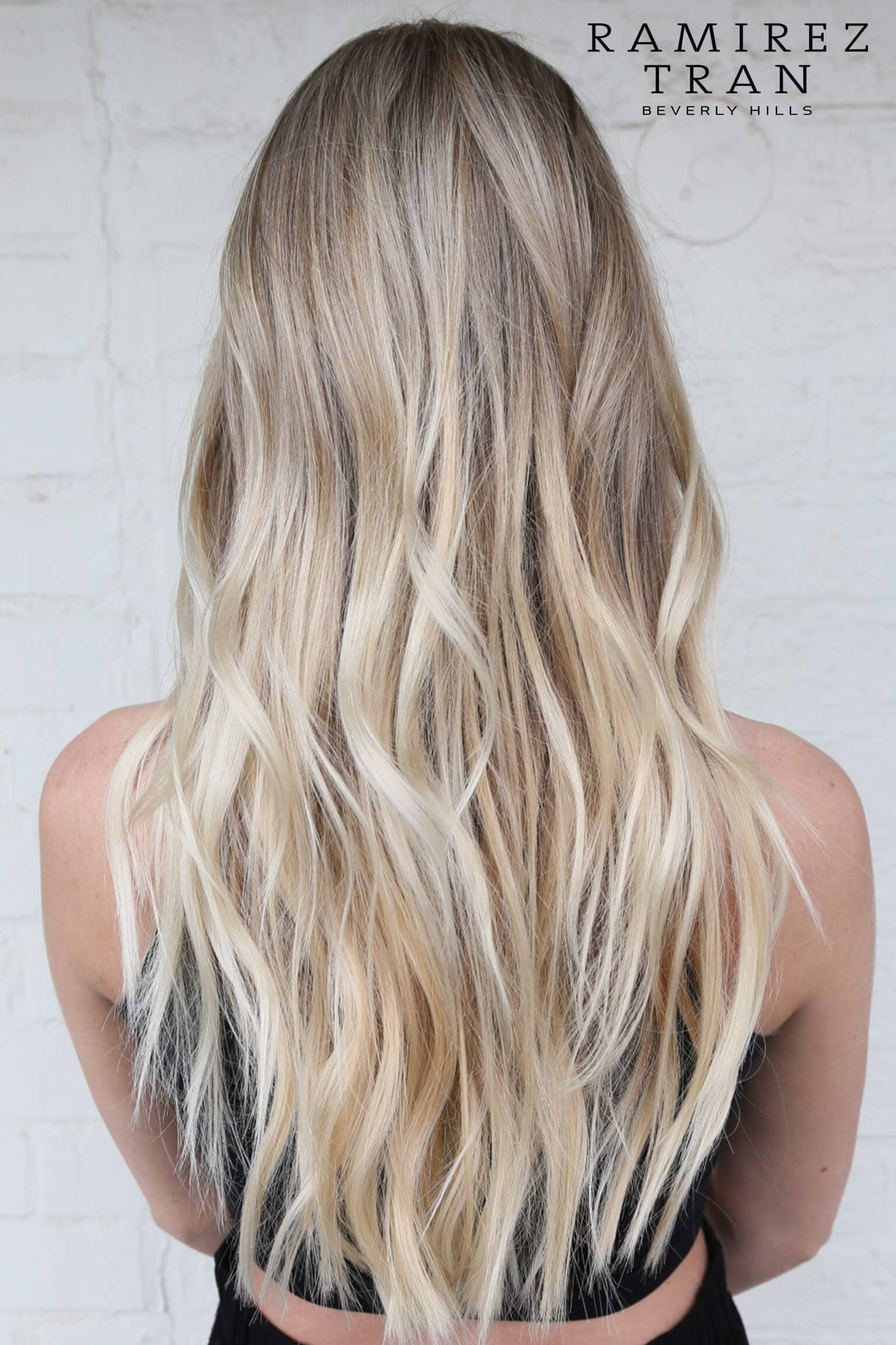 Blonde Balayage for Longer Hair