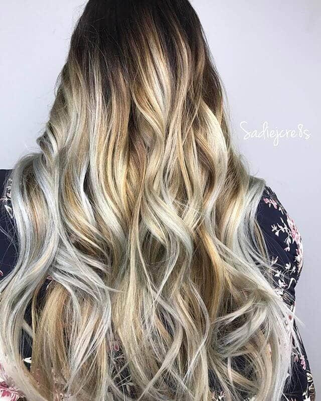 Full Blonde Spectrum Balayage Highlight