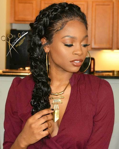 A Pretty and Elegant Side Braid