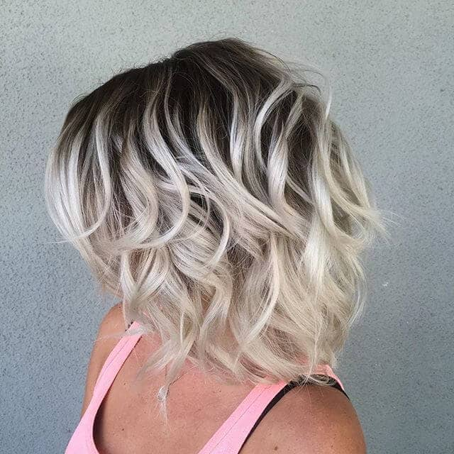 Bold Ombre for an Edgy Look