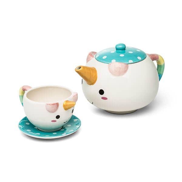 Elodie Cute-Tea-Pie Unicorn Teapot Set