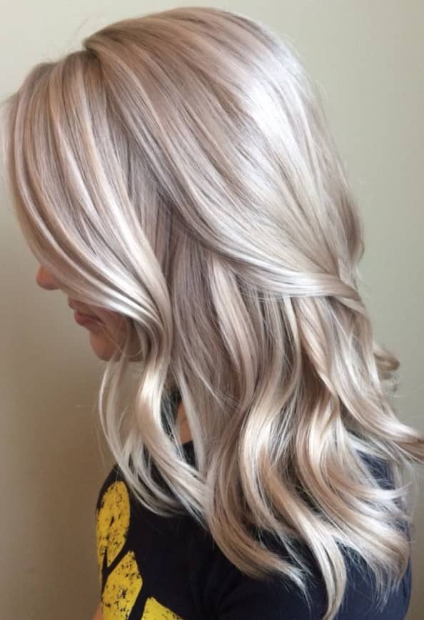 Silky Waves and Golden Blonde