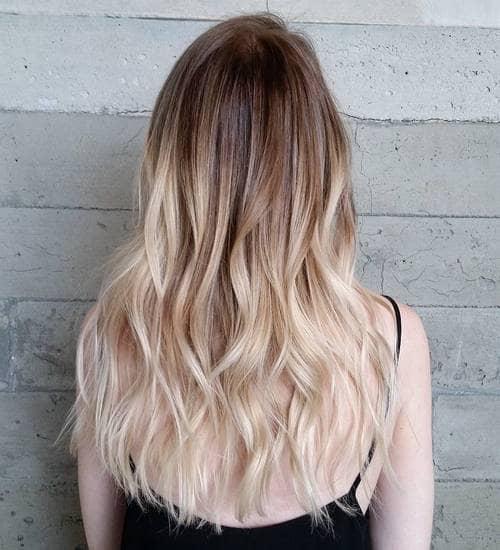 Caramel Beach Blonde Balayage Look