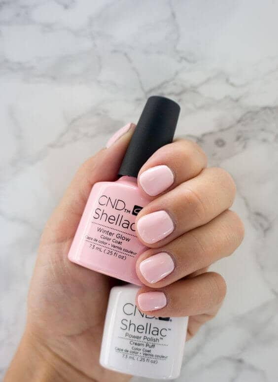 Short Pink Everyday Gel Manicure