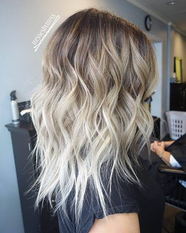 Subtle Ombre with Loose Waves